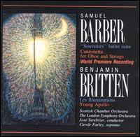 Barber: Souvenirs; Canzonetta; Britten: Les Illuminations; Young Apollo - Carole Farley (soprano); Julia Girdwood (oboe); José Serebrier (conductor)