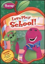 Barney: Let's Play School [Back to School Packaging]