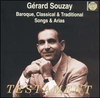 Baroque, Classical & Traditional Arias - Gérard Souzay (baritone); Jacqueline Bonneau (piano); Paris Conservatory Concert Society Orchestra; Robert Cornman (conductor)