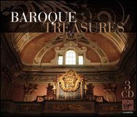 Baroque Treasures - Alix Verzier (bass viol); Andrew Lawrence-King (harp); Arleen Augér (soprano); Bernard Deletré (bass);...