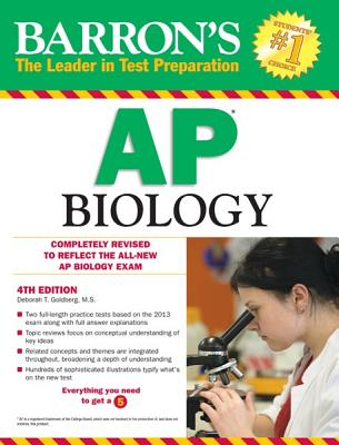 Barron's AP Biology, 4th Edition - Goldberg, Debora