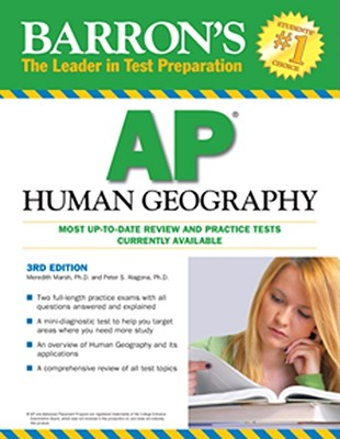 Barron's AP Human Geography - Marsh, Meredith, and Alagona, Peter S, PhD