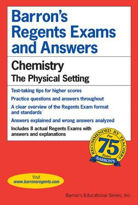 Barron's Regents Exams and Answers : Chemistry: Chemistry: Chemistry - Kieffer, David, and Walsh, Michael J, and Kaplan, Stanley H