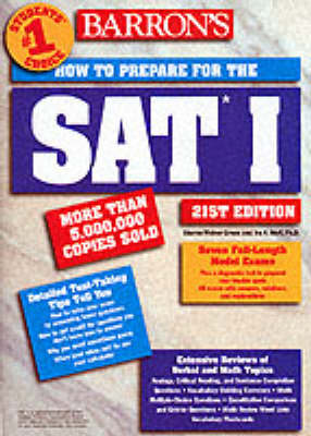 Barron's SAT I: How to Prepare for the SAT I -