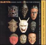 Bartók: Dance Suite; Music for Strings, Percussion and Celesta; The Wooden Prince