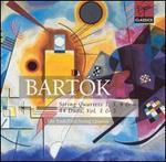 Bart�k: String Quartets 1, 3, 4 & 6; 44 Duos, Vol. 1 & 3