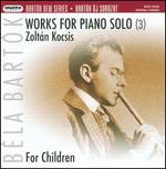 Bart�k: Works for Piano Solo