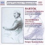 Bartök: Concerto for Orchestra; Mussorgsky: Pictures at an Exhibition