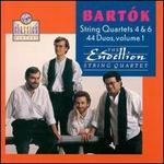 Bartok: String Quartets 4 & 6; Duos Vol.1