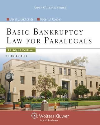 Basic Bankruptcy Law for Paralegals - Buchbinder, David L, and Cooper, Robert J