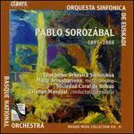 Basque Music Collection, Vol. 6: Pablo Sorozábal