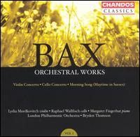Bax: Orchestral Works, Vol. 1 - Lydia Mordkovitch (violin); Margaret Fingerhut (piano); Raphael Wallfisch (cello); London Philharmonic Orchestra;...