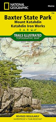 Baxter State Park / Mount Katahdin - National Geographic Maps (Editor)