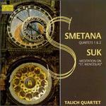 Bedrich Smetana: String Quartets/Josef Suk: Meditation On The Old Czech Hymn St. Wencelas, Op. 35a