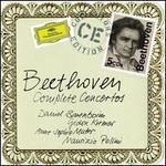 Beethoven: Complete Concertos - Anne-Sophie Mutter (violin); Daniel Barenboim (piano); Fritz Kreisler (candenza); Gidon Kremer (violin); Gil Shaham (violin); Lidia Grychtolowna (piano); Ludwig van Beethoven (candenza); Mark Zeltser (piano); Maurizio Pollini (piano)