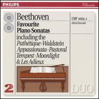 Beethoven: Favourite Piano Sonatas - Alfred Brendel (piano)