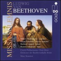 Beethoven: Missa Solemnis [includes Bonus Tracks] - Franziska Hirzel (soprano); Herbert Lippert (tenor); Hillevi Martinpelto (soprano); Jean-Philippe Courtis (bass);...