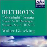 "Beethoven: ""Moonlight"" Sonata; Sonatas Nos. 8 (""Pathétique""), 9, 10, 13"