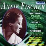 Beethoven: Piano Concerto No. 3; Mozart: Prelude and Fugue; Schubert: Impromptu