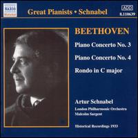 Beethoven: Piano Concertos and Rondos - Artur Schnabel (piano); London Philharmonic Orchestra; Malcolm Sargent (conductor)