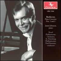 Beethoven: Piano Concertos Nos. 1 & 3 - James Johnson (piano); Paul Freeman (conductor)