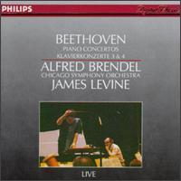 Beethoven: Piano Concertos Nos. 3 & 4 - Chicago Symphony Orchestra; James Levine (conductor)
