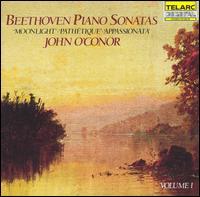 Beethoven: Piano Sonatas, Vol. 1 - John O'Conor (piano)