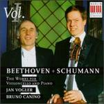 Beethoven & Schumann: The Works for Piano, Violoncello and Piano, Vol. 1