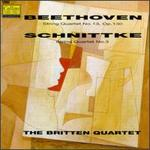 Beethoven: String Quartet, No. 13/Schnittke: String Quartet, No. 3