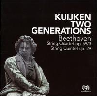 Beethoven: String Quartet; String Quintet - Marleen Thiers (viola); Sara Kuijken (viola); Sigiswald Kuijken (violin); Veronica Kuijken (violin); Wieland Kuijken (cello)