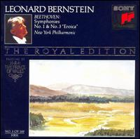 "Beethoven: Symphonies No. 1 & No. 3 ""Eroica"" - New York Philharmonic; Leonard Bernstein (conductor)"