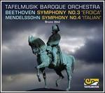 """Beethoven: Symphony No. 3 """"Eroica""""; Mendelssohn: Symphony No. 4 """"Italian"""""""