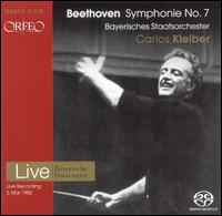 Beethoven: Symphony No. 7 - Bavarian State Opera Orchestra; Carlos Kleiber (conductor)