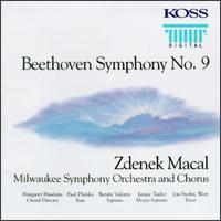 Beethoven: Symphony No. 9 - Benita Valente (soprano); Janice Taylor (mezzo-soprano); Jon Fredric West (tenor); Paul Plishka (bass);...
