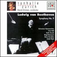 Beethoven: Symphony No. 9 - Birgit Remmert (alto); Detlef Roth (bass); Ruth Ziesak (soprano); Steve Davislim (tenor);...