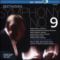 Beethoven: Symphony No. 9 - Benita Valente (soprano); Janice Taylor (mezzo-soprano); Richard Leech (tenor); William Stone (baritone);...