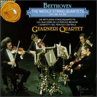 Beethoven: The Middle String Quartets - Arnold Steinhardt (violin); David Soyer (cello); Guarneri Quartet; John Dalley (violin); Michael Tree (viola)