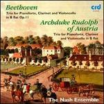 Beethoven: Trio in B flat, Op. 11; Archduke Rudolf of Austria: Trio in B flat