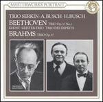Beethoven: Trio, Op. 70/1; Brahms: Trio, Op. 87