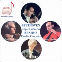 Beethoven: Triple Concerto; Brahms: Double Concerto - Christian Ferras (violin); Eric Heidsieck (piano); Janos Starker (cello); Paul Tortelier (cello); ORTF National Orchestra
