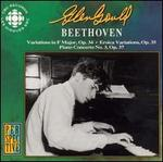 Beethoven: Variations, Op. 34; Eroica Variations, Op. 35; Piano Concerto No. 3