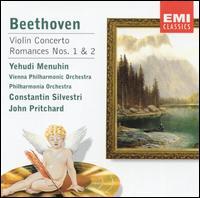 Beethoven: Violin Concerto; Romances - Fritz Kreisler (candenza); Yehudi Menuhin (violin)
