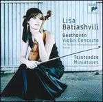 Beethoven: Violin Concerto; Sulkhan Tsintsadze: Miniatures
