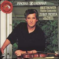 Beethoven: Violin Concerto - Marc Neikrug (piano); Pinchas Zukerman (violin); Los Angeles Philharmonic Orchestra; Zubin Mehta (conductor)