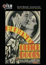 Behind Office Doors - Melville W. Brown