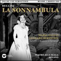 Bellini: La Sonnambula - Cesare Valletti (vocals); Eugenia Ratti (vocals); Gabriella Carturan (vocals); Giuseppe Modesti (vocals);...