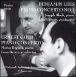 Benjamin Lees: Piano Concerto No. 1; Ernest Gold: Piano Concerto