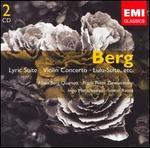 Berg: Lyric Suite; Violin Concerto; Lulu-Suite