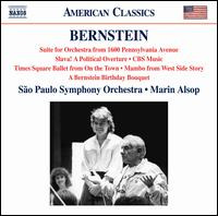 Bernstein: Suite for Orchestra from 1600 Pennsylvania Avenue; Slava!; etc. - Orquestra Sinfónica do Estado de São Paulo - OSESP; Marin Alsop (conductor)