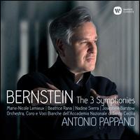 Bernstein: The 3 Symphonies - Alessandro Carbonare (clarinet); Beatrice Rana (piano); Josephine Barstow (soprano);...